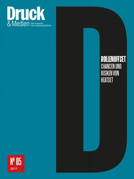 Druck & Medien-Dossier: Rollenoffset: Chancen und Risiken von Heatset