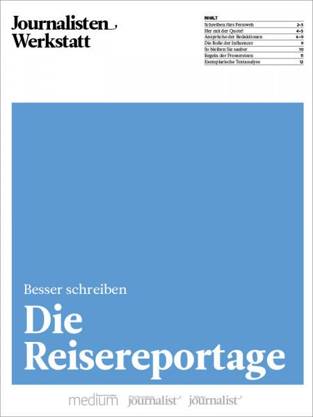 Journalisten Werkstatt, Die Reisereportage, Peter Linden