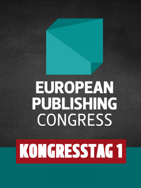 European Publishing Congress Ticket Day 1