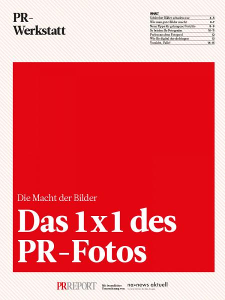Das 1x1 des PR-Fotos: Die Macht der Bilder, PR-Werkstatt, Sabina Paries