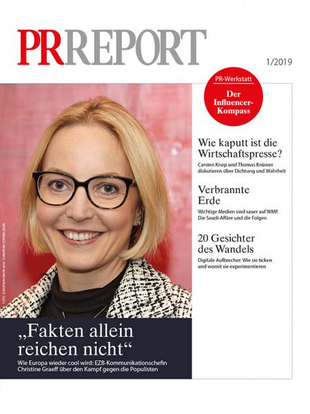 """PR Report: """"Fakten allein reichen nicht""""  Wie Europa wieder cool wird: EZB-Kommunikationschefin Christine Graeff über den Kampf gegen die Populisten"""
