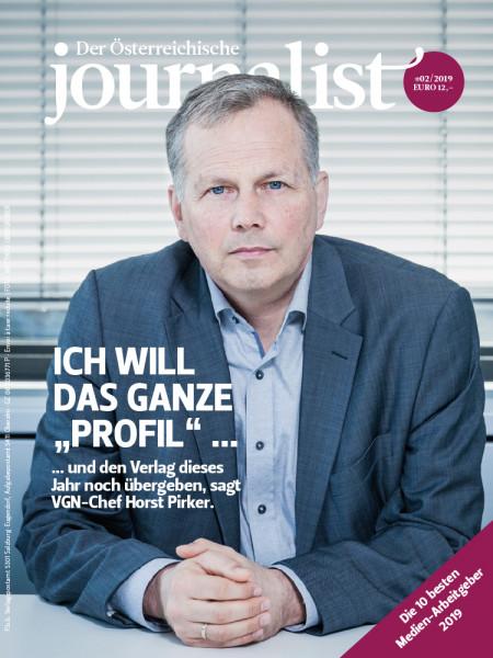 Der Österreichische Journalist, VGN Chef, Horst Pirker