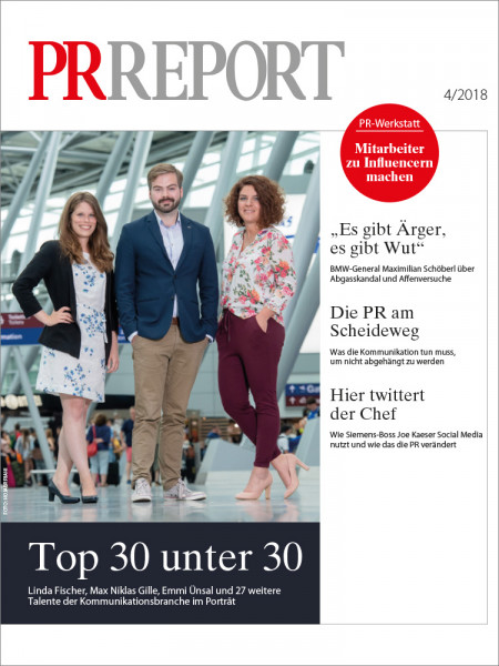 PR Report, Top 30 unter 30