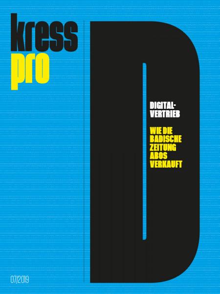 kress pro Dossier, Digitalvertrieb, Wie die Badische Zeitung Abos verkauft