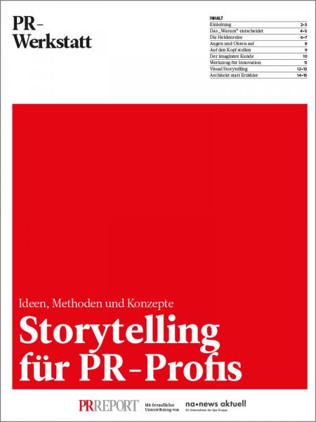 Storytelling für PR-Profis: Ideen, Methoden und Konzepte, PR-Werkstatt, Pia Kleine Wieskamp