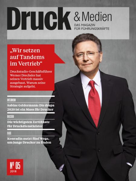 """Druck & Medien: """"Wir setzen auf Tandems im Vertrieb"""" Was hinter der Strategie der Druckstudio-Gruppe steckt"""
