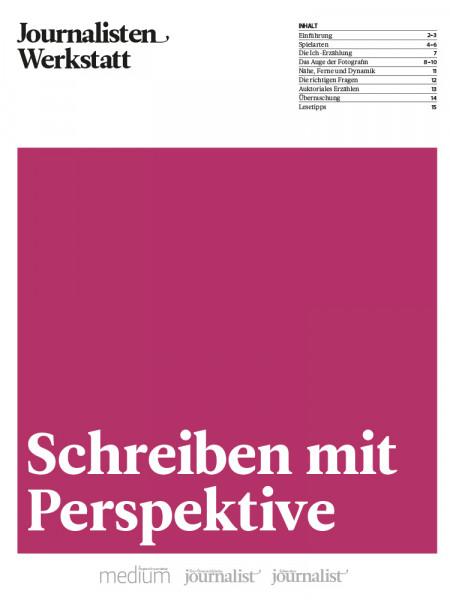 Schreiben mit Perspektive, Journalisten Werkstatt, Marie Lampert
