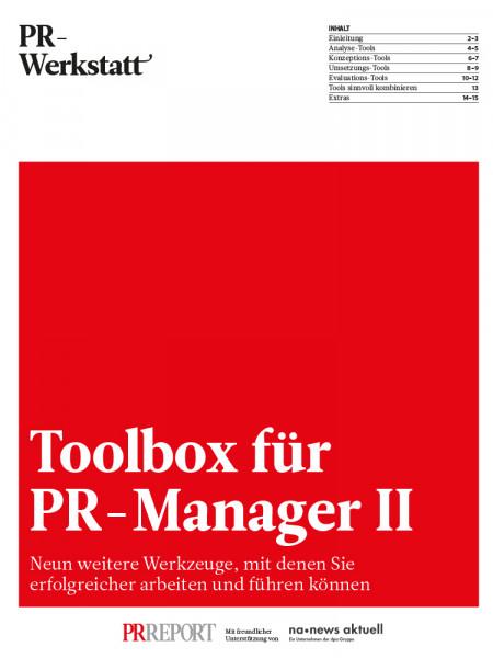 Toolbox für PR-Manager II
