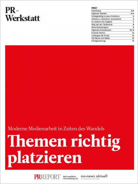Themen richtig platzieren, PR-Werkstatt, Philipp Ley