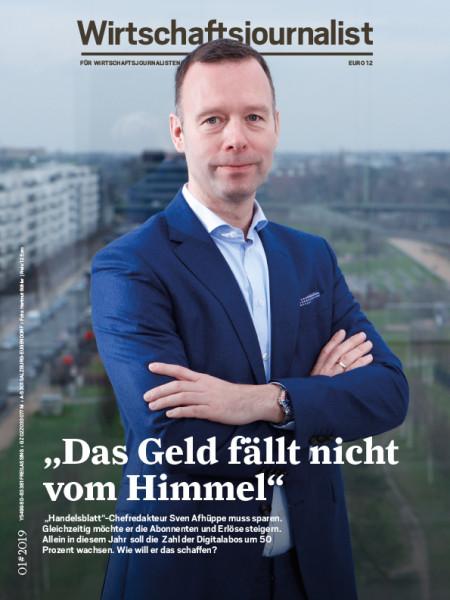 """Wirtschaftsjournalist: """"Das Geld fällt nicht vom Himmel"""" """"Handelsblatt""""-Chefredakteur Sven Afhüppe muss sparen."""