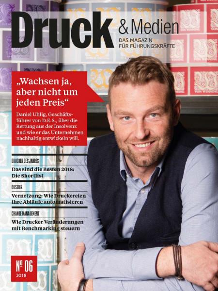 """Druck & Medien: """"Wachsen ja, aber nicht um jeden Preis"""" Daniel Uhlig, Geschäftsführer von D.E.S."""
